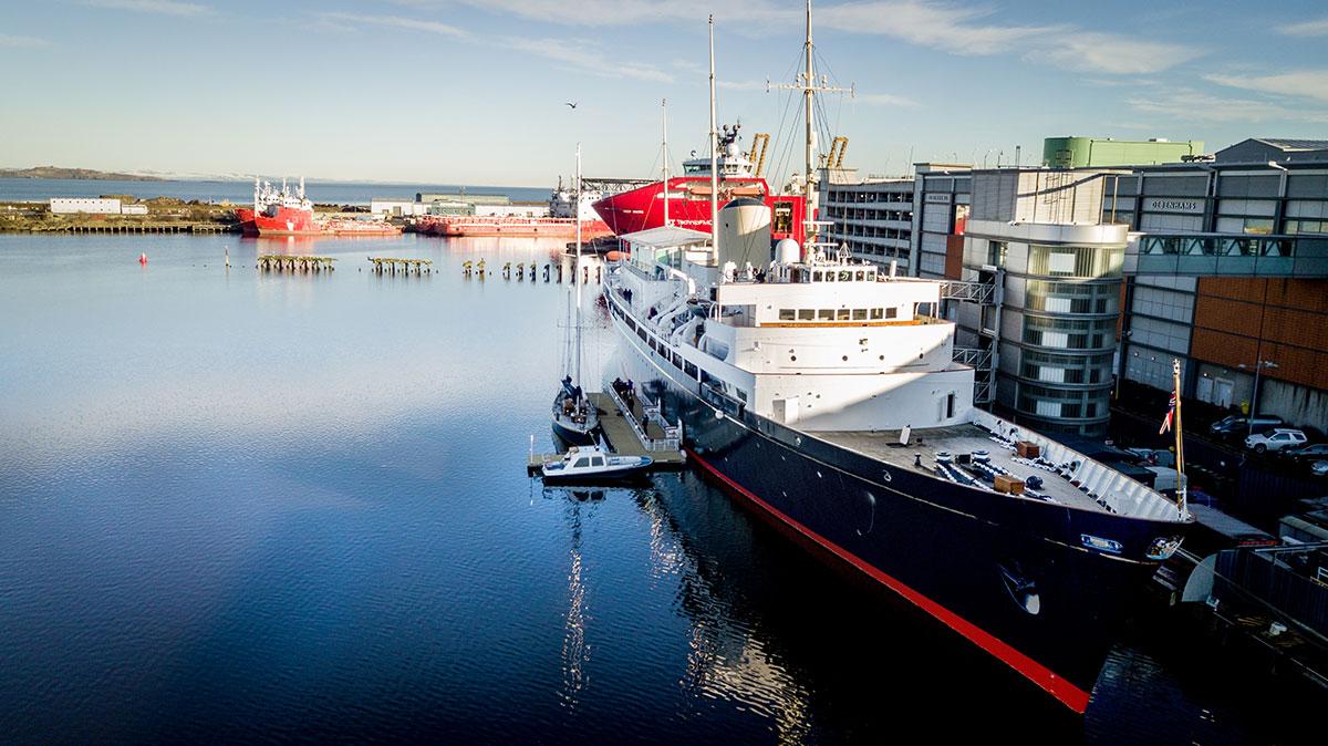 Royal Yacht Britannia Leith, Edinburgh