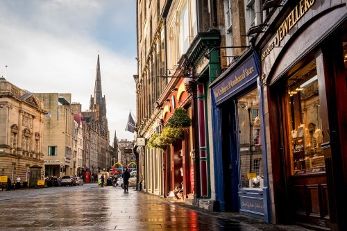 Royal Mile Edinburgh Schottland