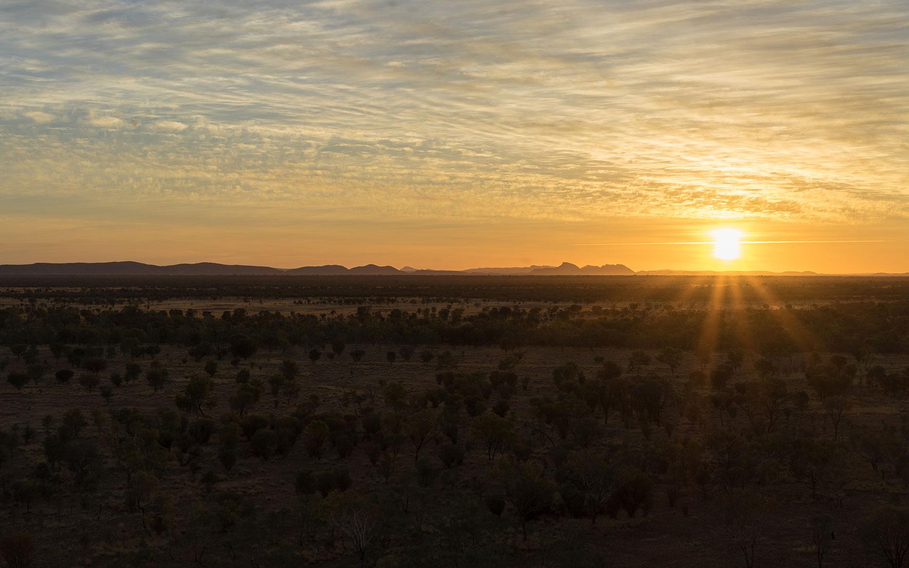 Sonnenaufgang Alice Springs