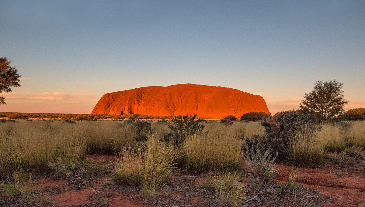 Besuch des Uluru, Field of Light und Kata Tjuta