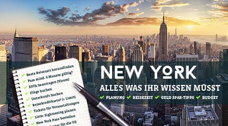 Reise Nach New York Planen Tipps Checkliste Infos