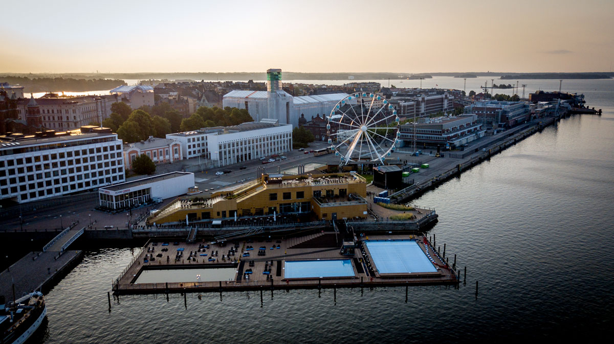 Allas Sea Pools Helsinki