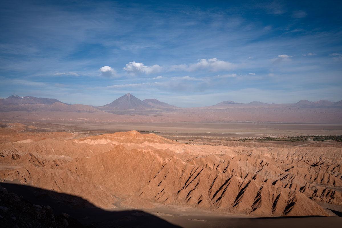 Atacama-Wüste Valle de Marte Licancabur