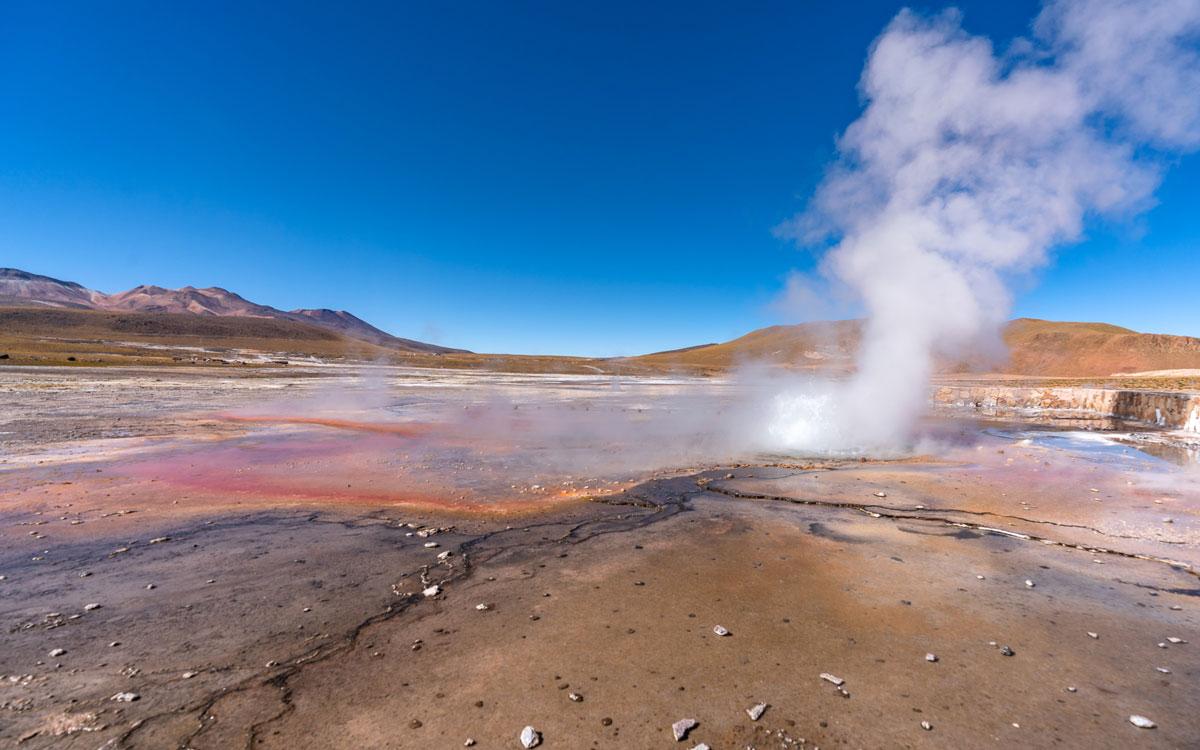 Tatio Geysire Atacama
