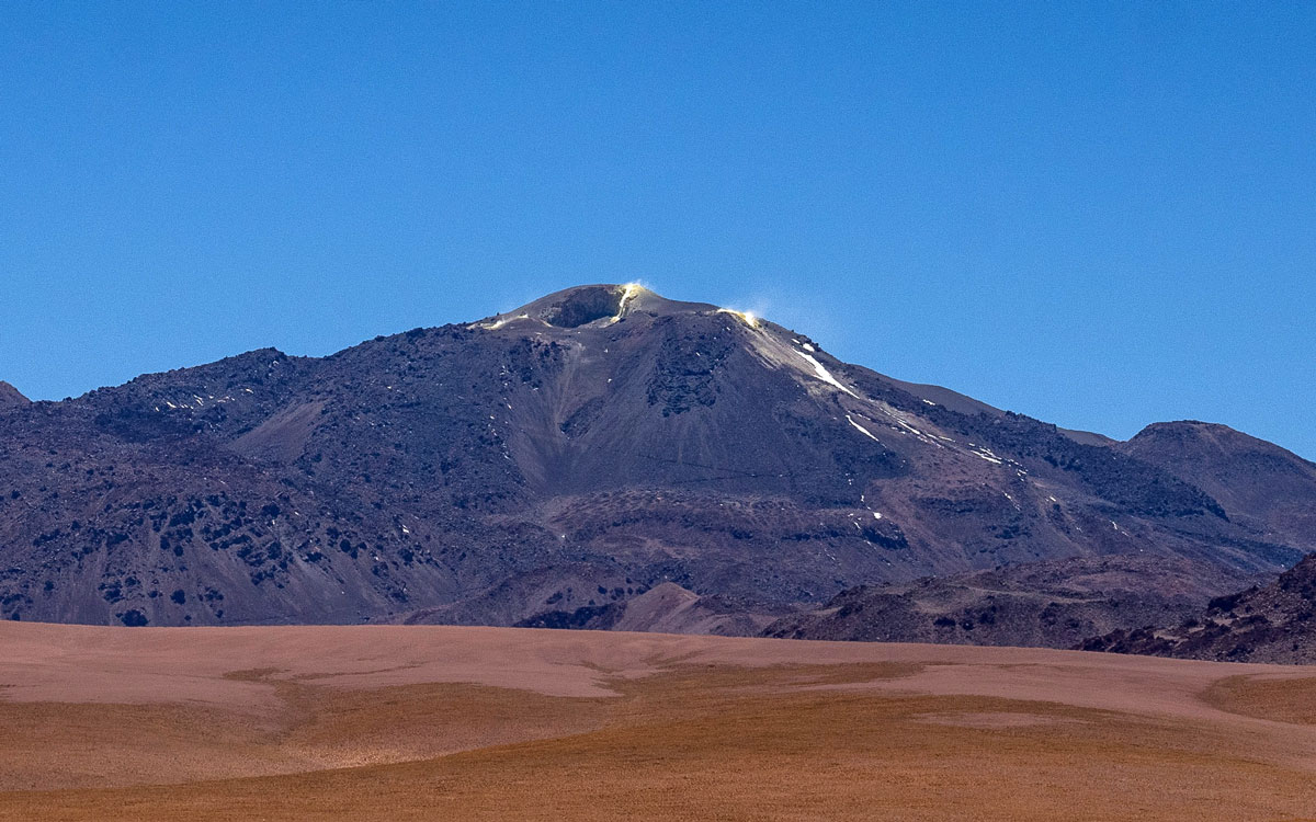 Vulkan Putana Atacama Wüste