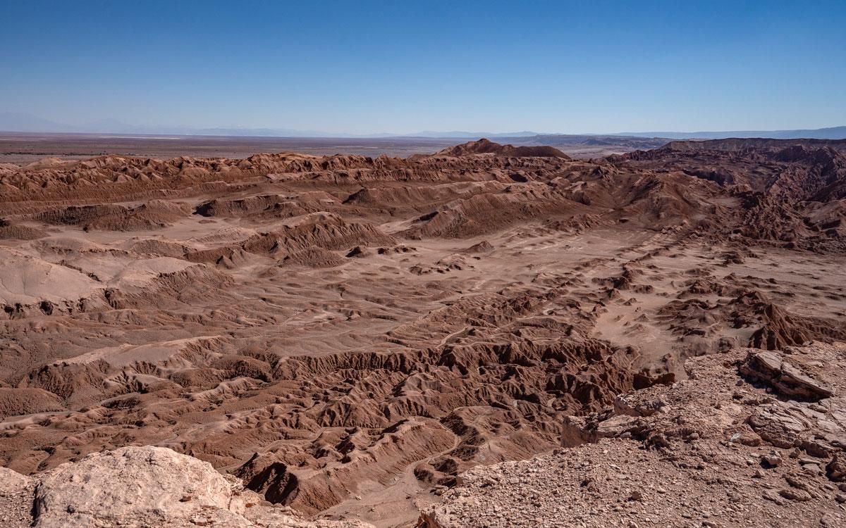 Valle de la Luna Atacama Wüste