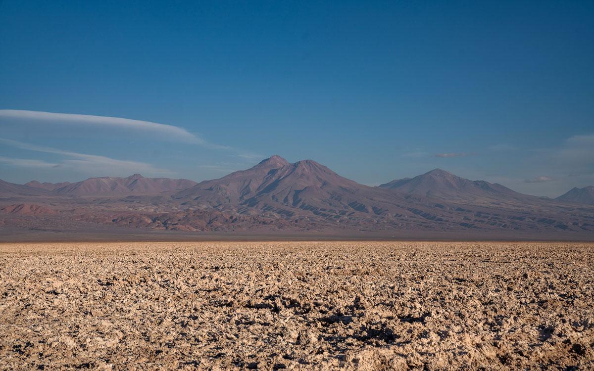 Salar de Atacama Salzsee