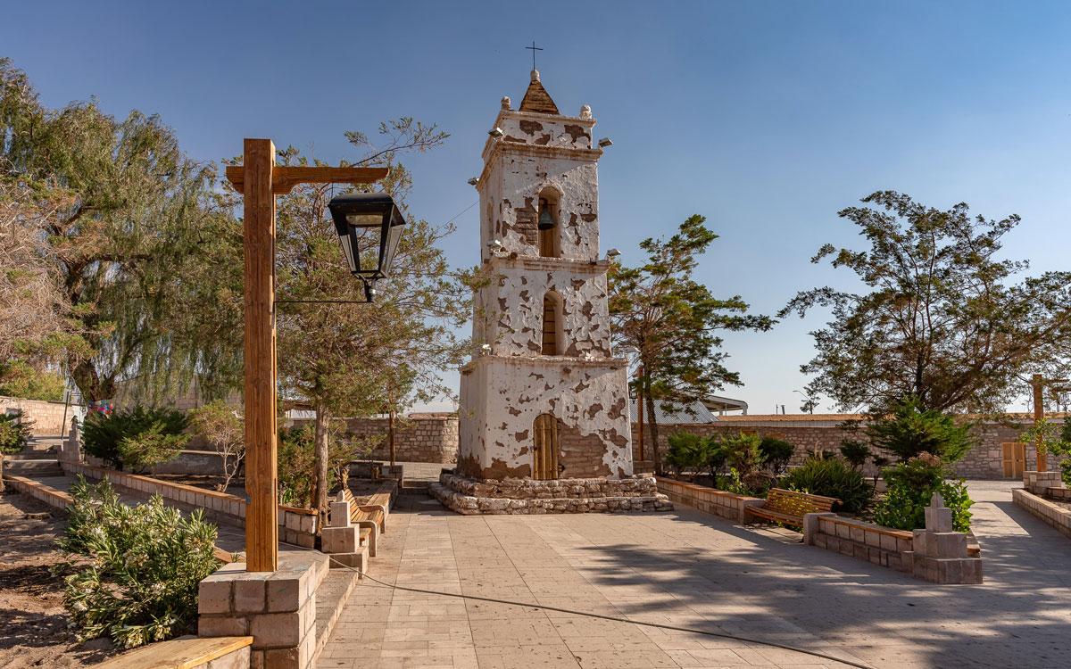 Kirche Toconao Atacama Wüste