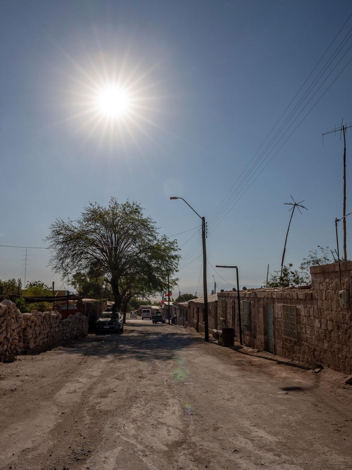 Toconao Dorf Atacama Wüste