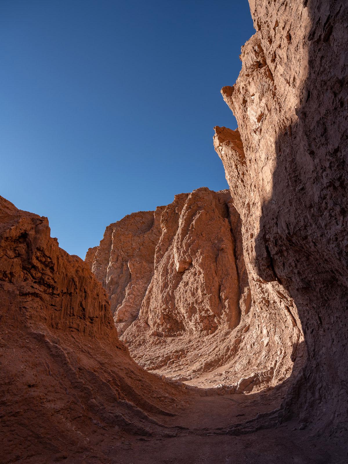 Valle de la Luna Canyon Atacama