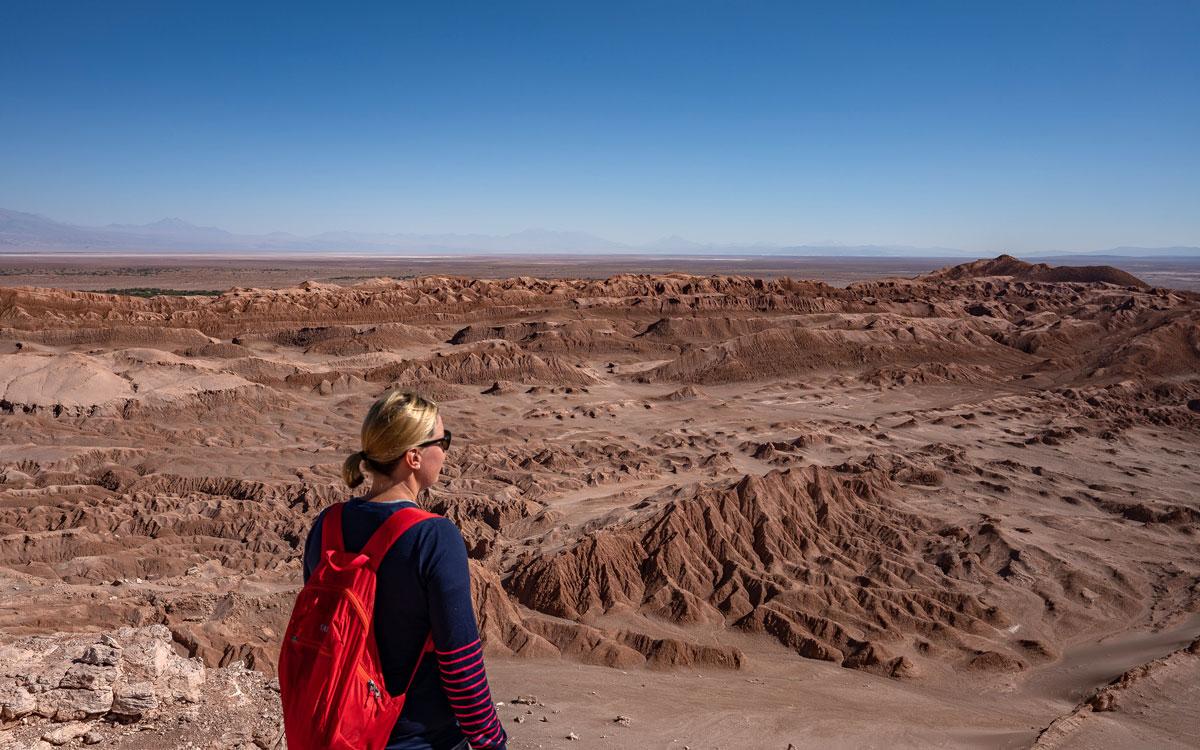 Valle de la Luna - Atacamawüste Chile