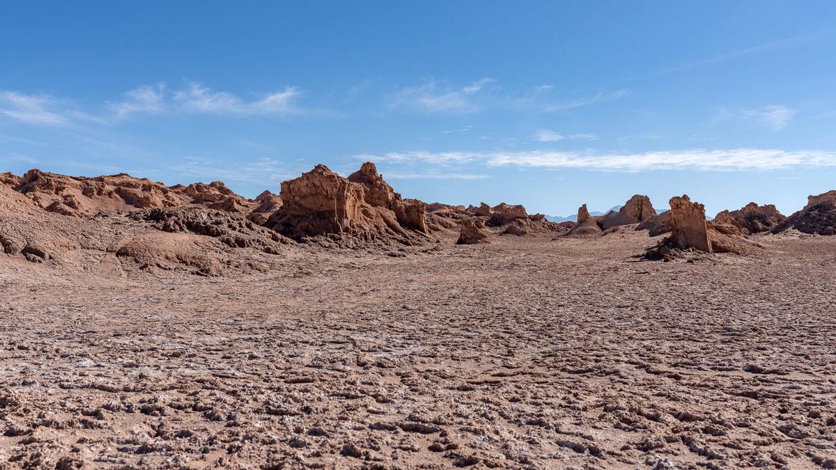 Mondlandschaften Atacama-Wüste