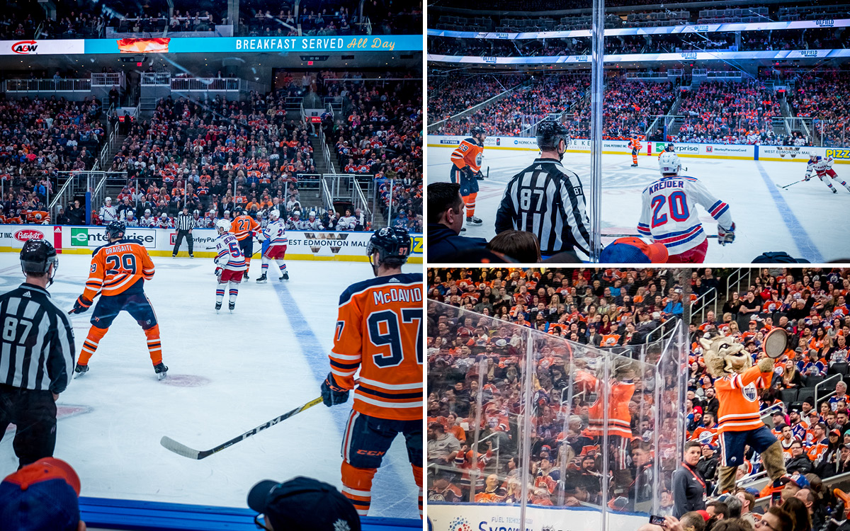 Edmonton Oilers Rogers Place