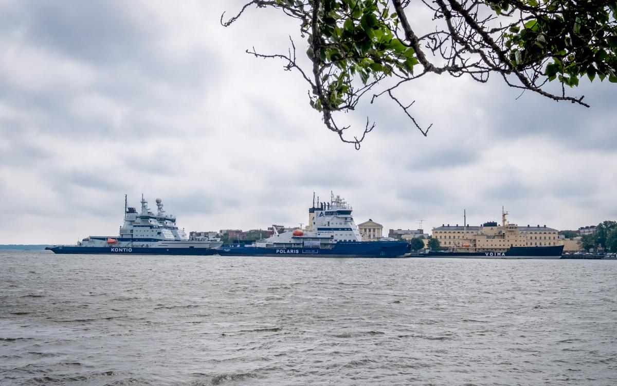 Eisbrecher Flotte Finnland Helsinki
