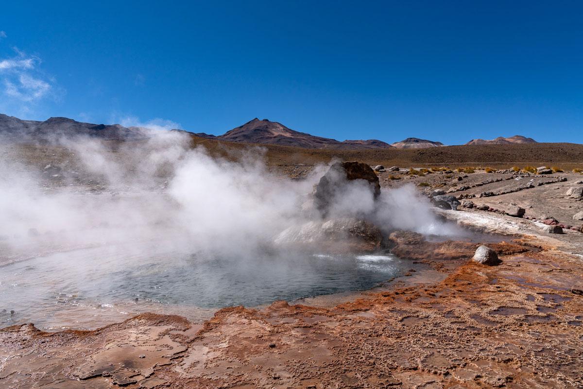 El Tatio Geysir Atacamawüste