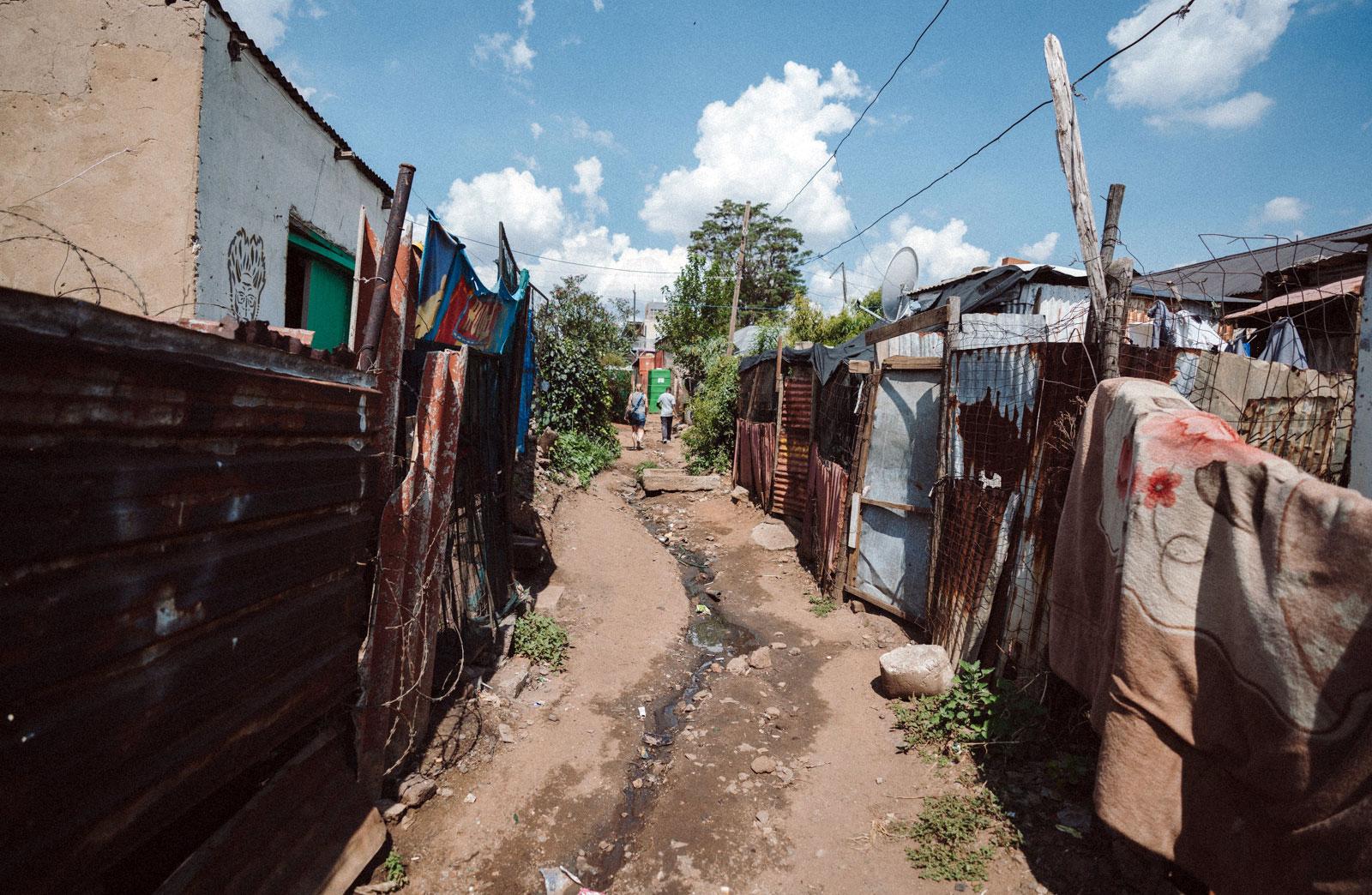 Arm und Reich Kliptown Soweto