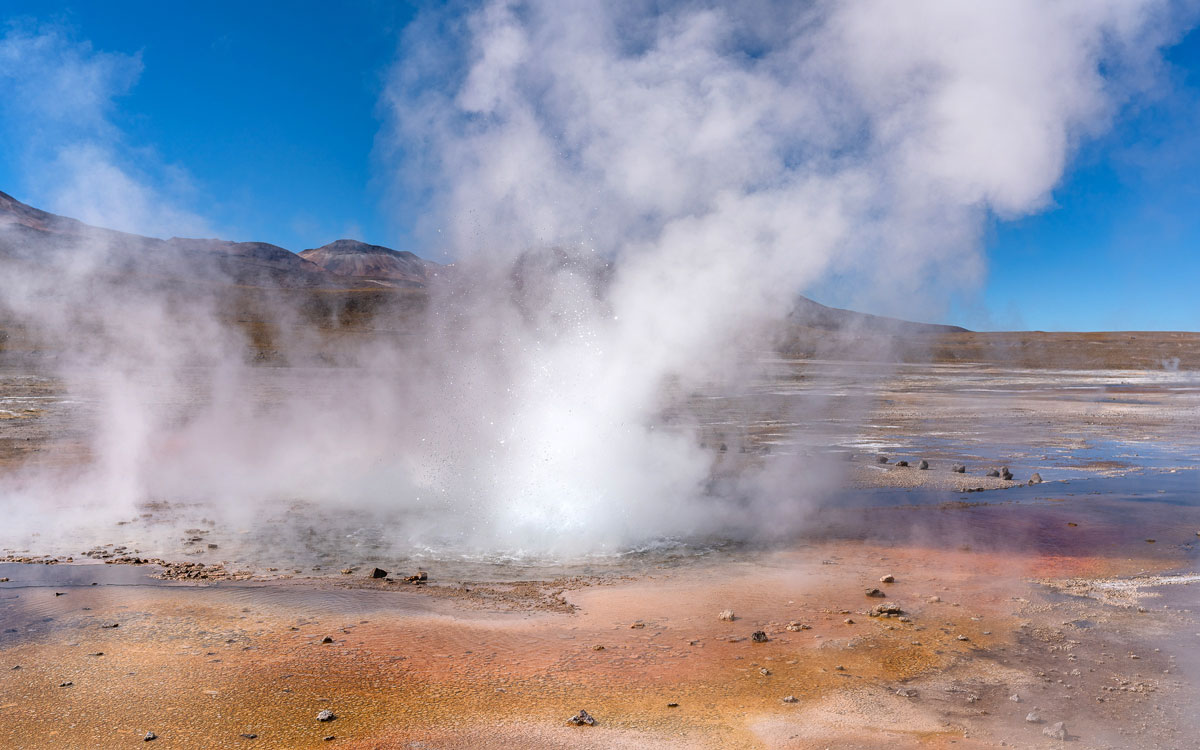 Tatio Geysire Chile