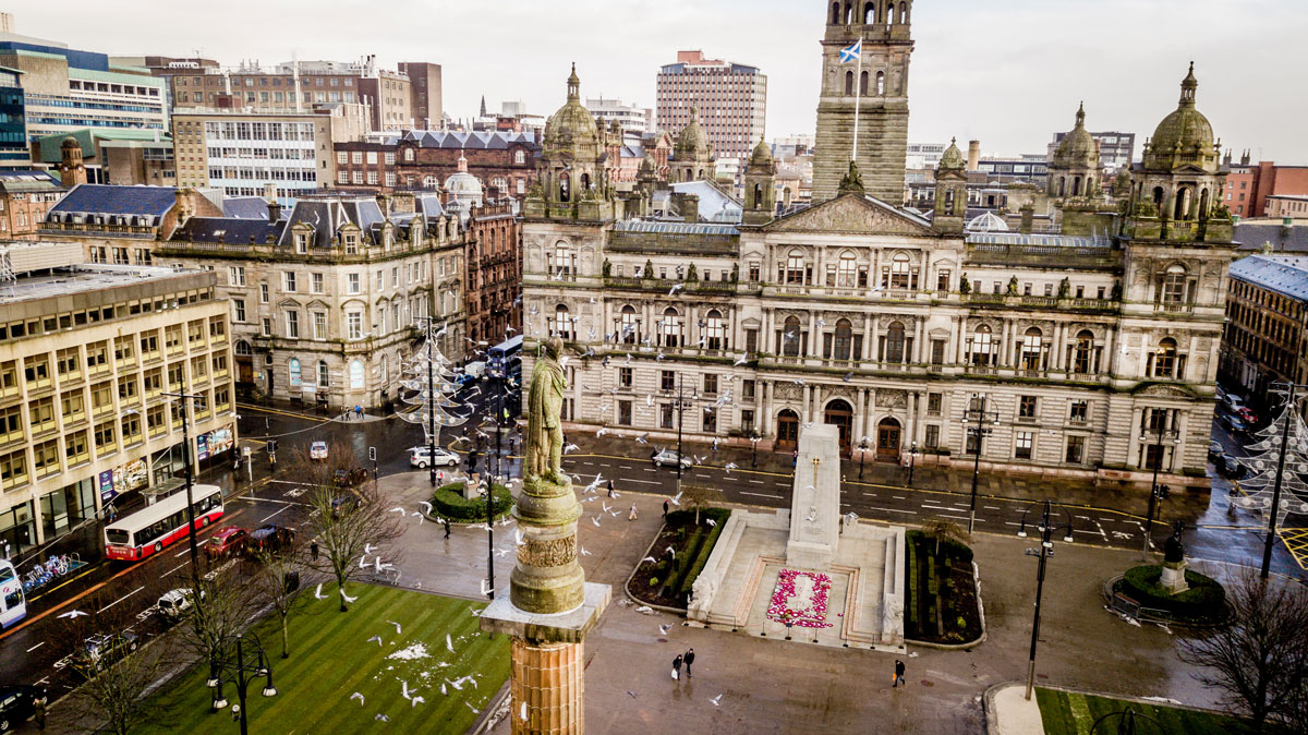 George Square City Chambers Glasgow
