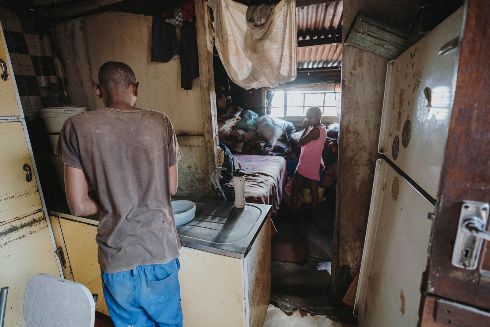 Kliptown Soweto Wohnhaus