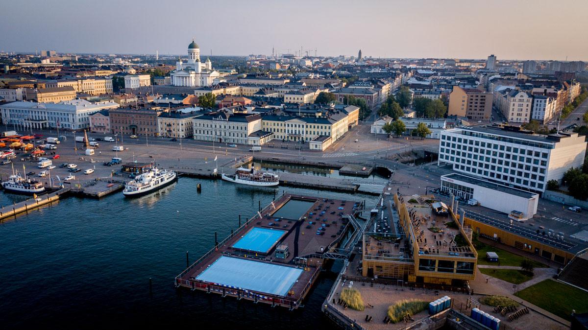 Helsinki von obem