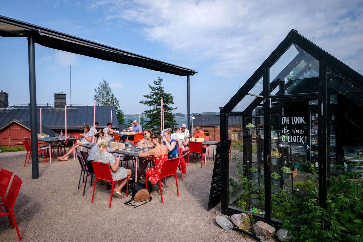 Lonna Insel Helsinki essen