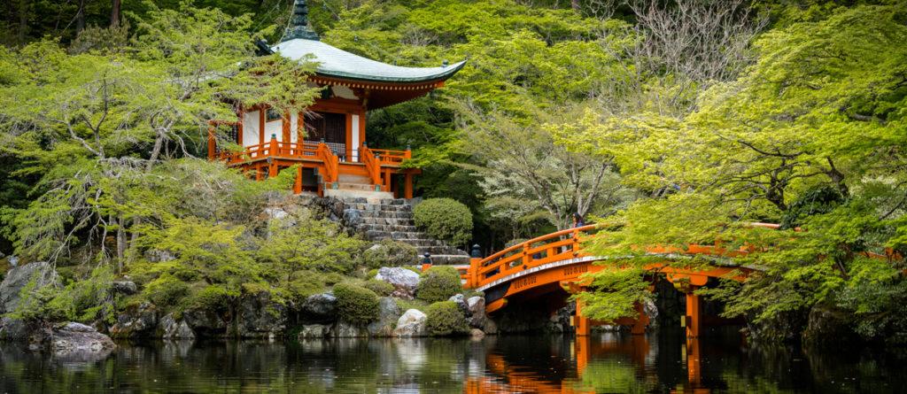 Daigoji Tempel Kyoto, Japan.