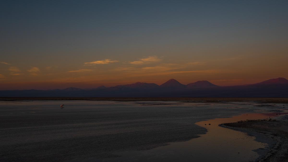 Salar de Atacama Sonnenuntergang Chile