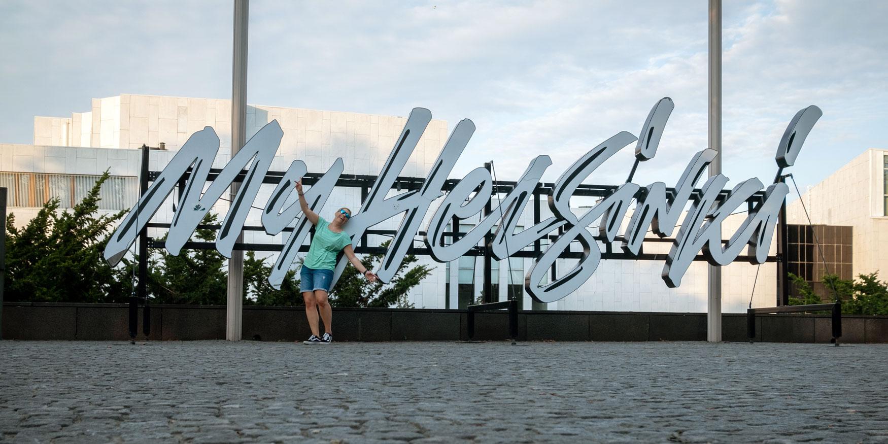 My Helsinki Schriftzug