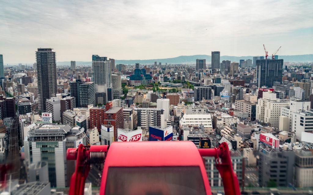 Osaka Sehenswürdigkeit HEP Five Riesenrad