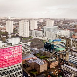 People make Glasgow Skyline