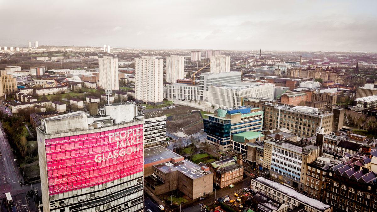 People make Glasgow Skyline