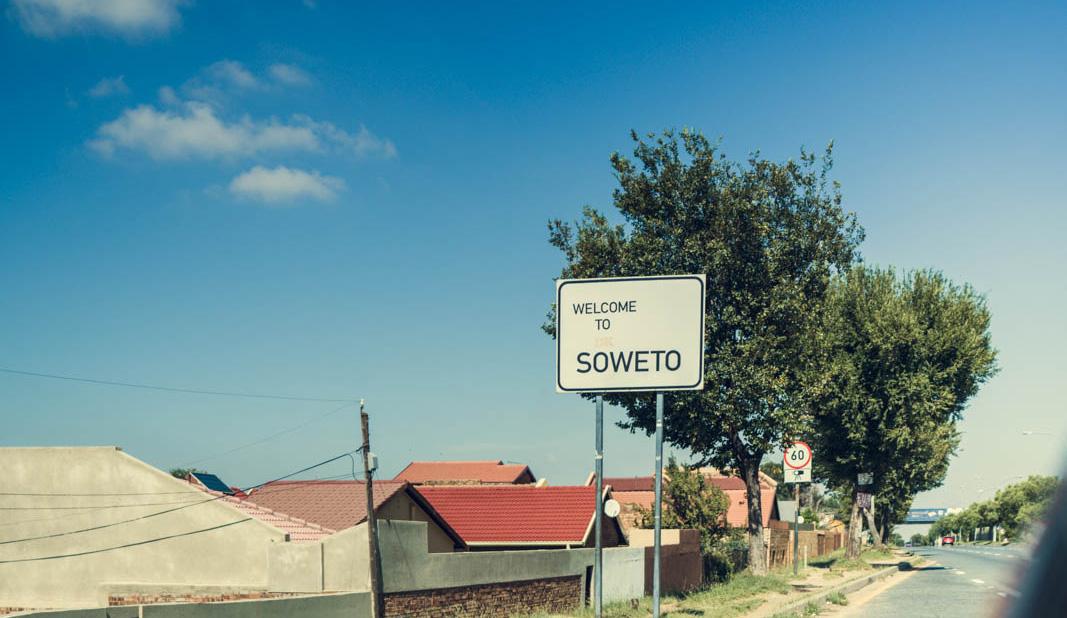 Soweto Ortsschild