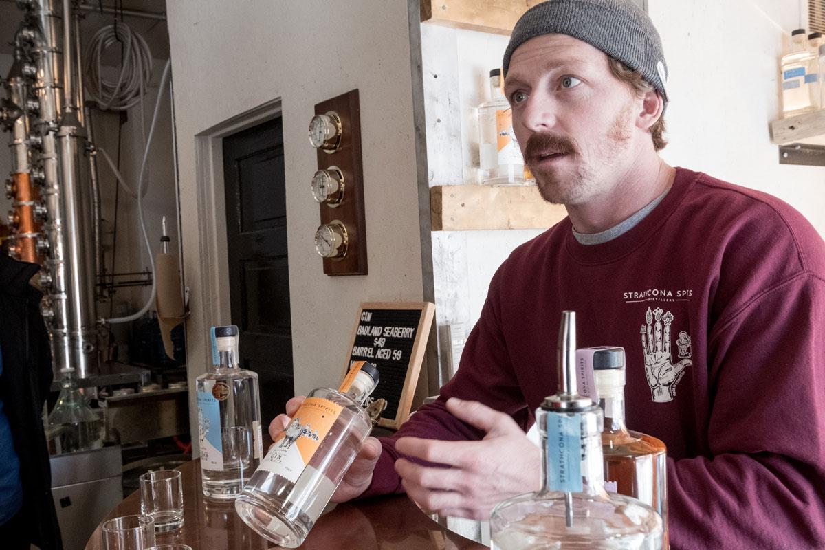 Nordamerikas kleinste Distillerie: Strathcona Spirits Edmonton