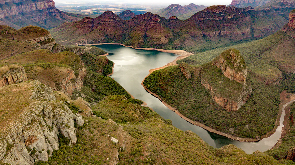 Blyde River Canyon Aussicht