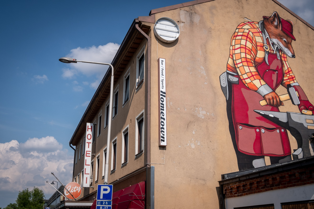 Street Art in Salo