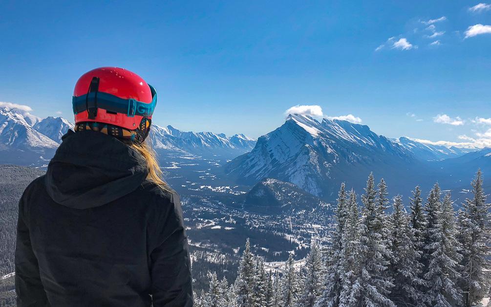 Mt Norquay Kanada Skifahren