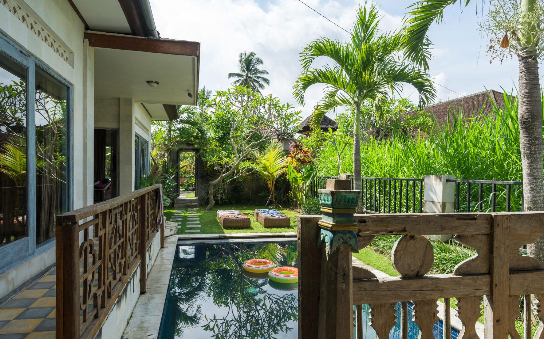 Villa mit Pool in Ubud, Bali