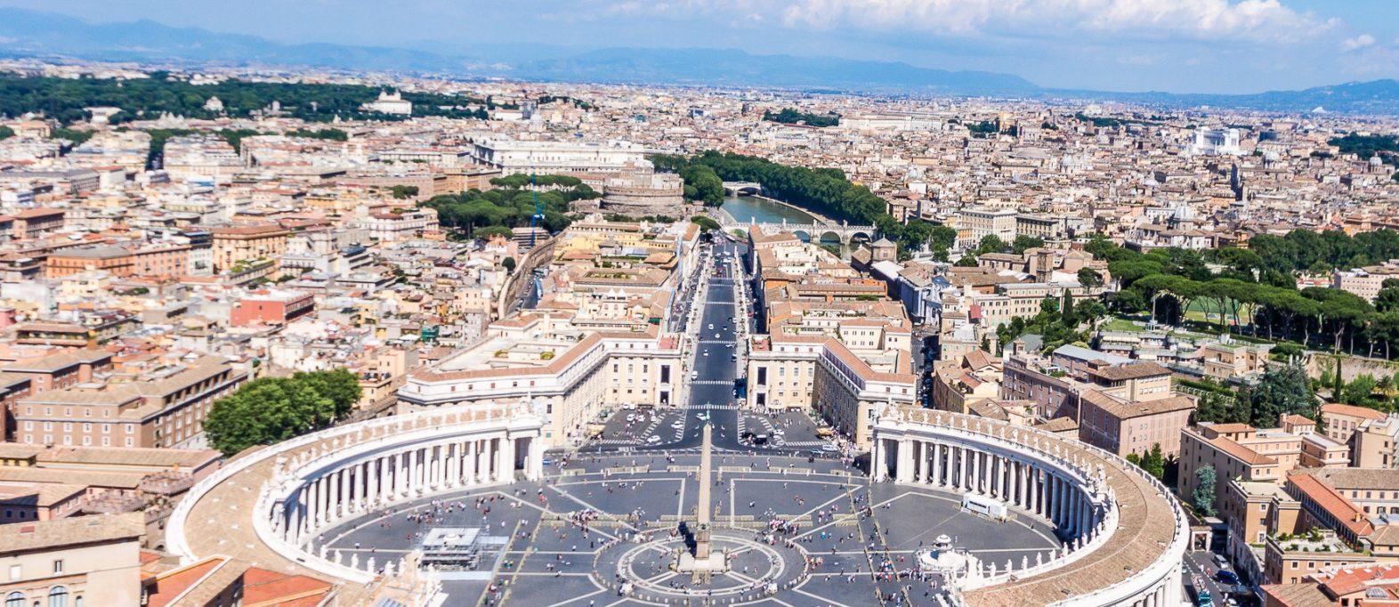 Rom Vatikan Besichtigung Petersdom Kuppel