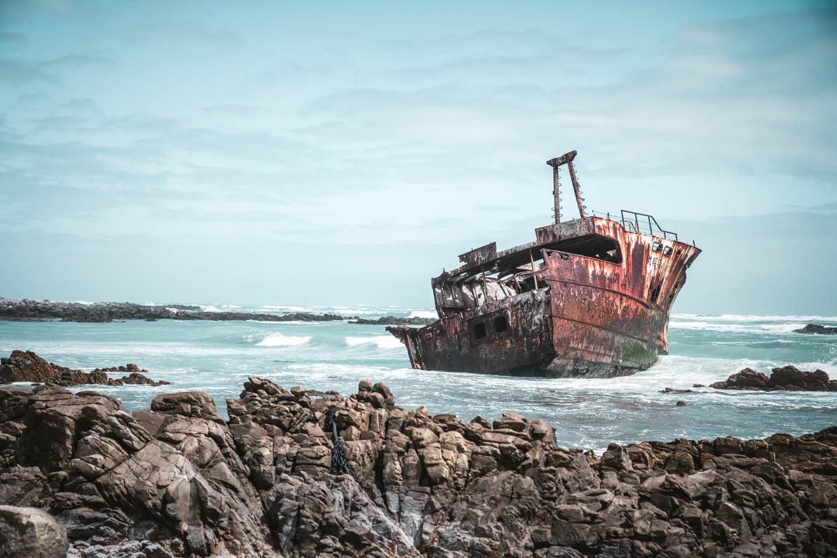 Schiffswrack Meisho Maru 38 Cape Agulhas