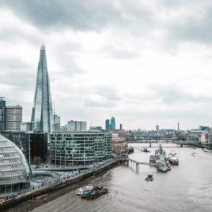 Ausblick Tower Bridge auf City Hall