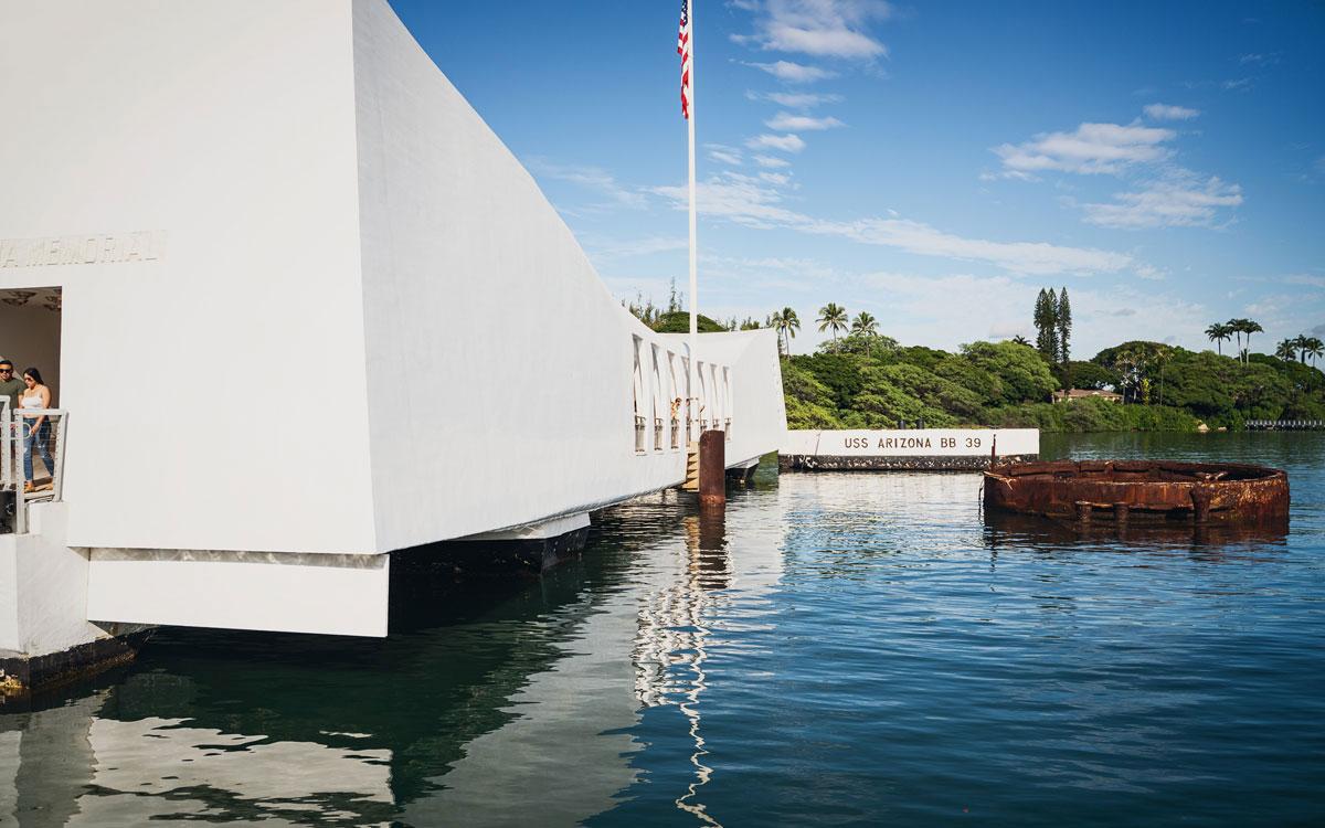 USS Arizona Gedenkstätte Pearl Harbor Oahu