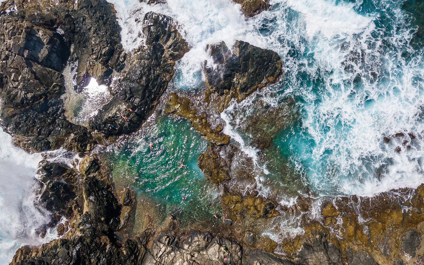 """Conchi"" Natural Pool, Arikok Nationalpark in Aruba"