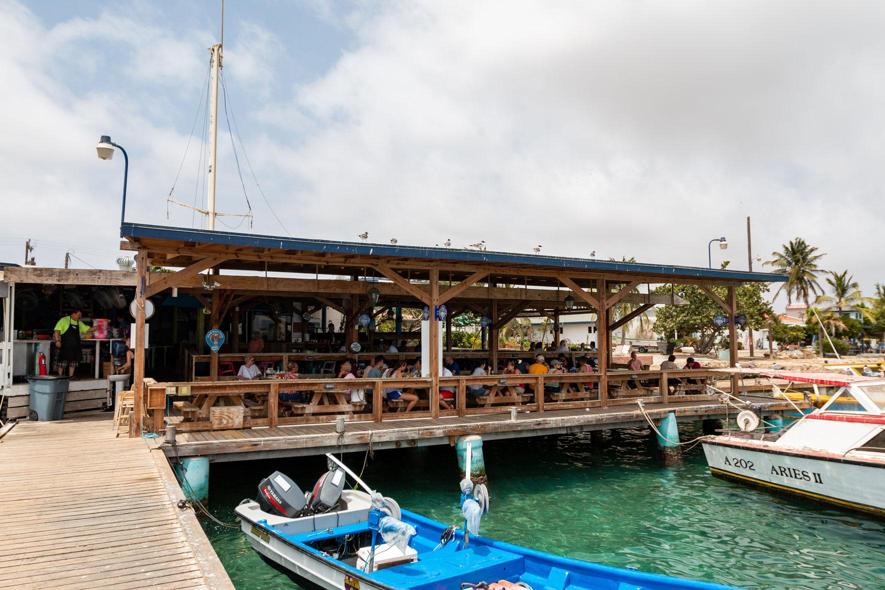 Zeerover Fisch und Shrimps | Aruba