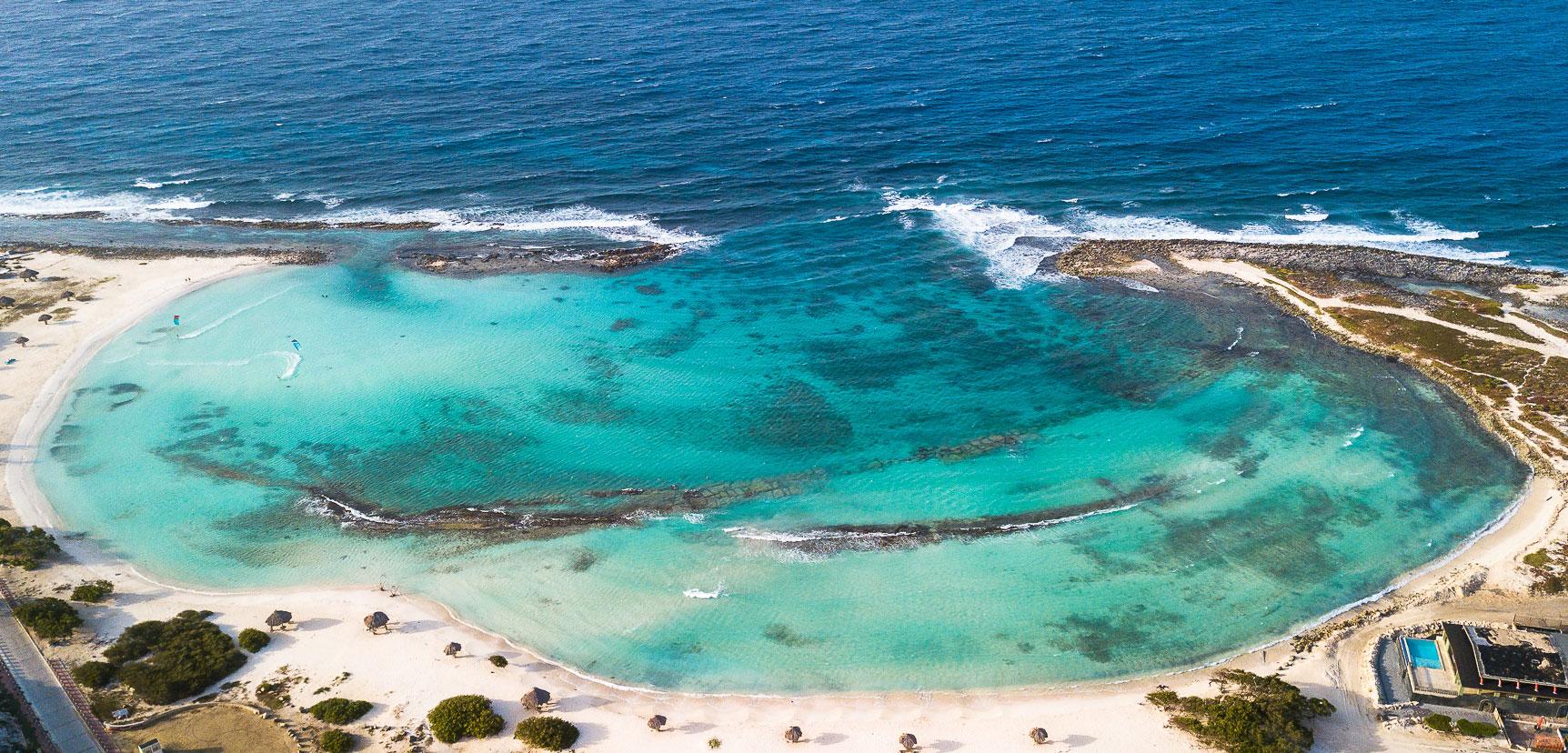 Baby Beach Aruba Drohne