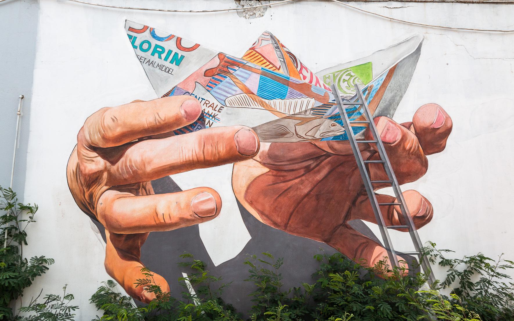 Florin Street Art Aruba, St. Nicolas
