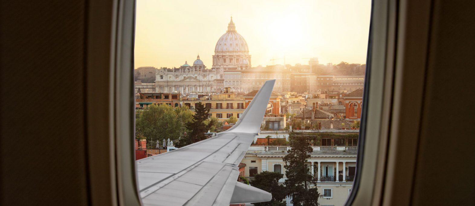 So geht's: Flughafentransfer Rom – Innenstadt