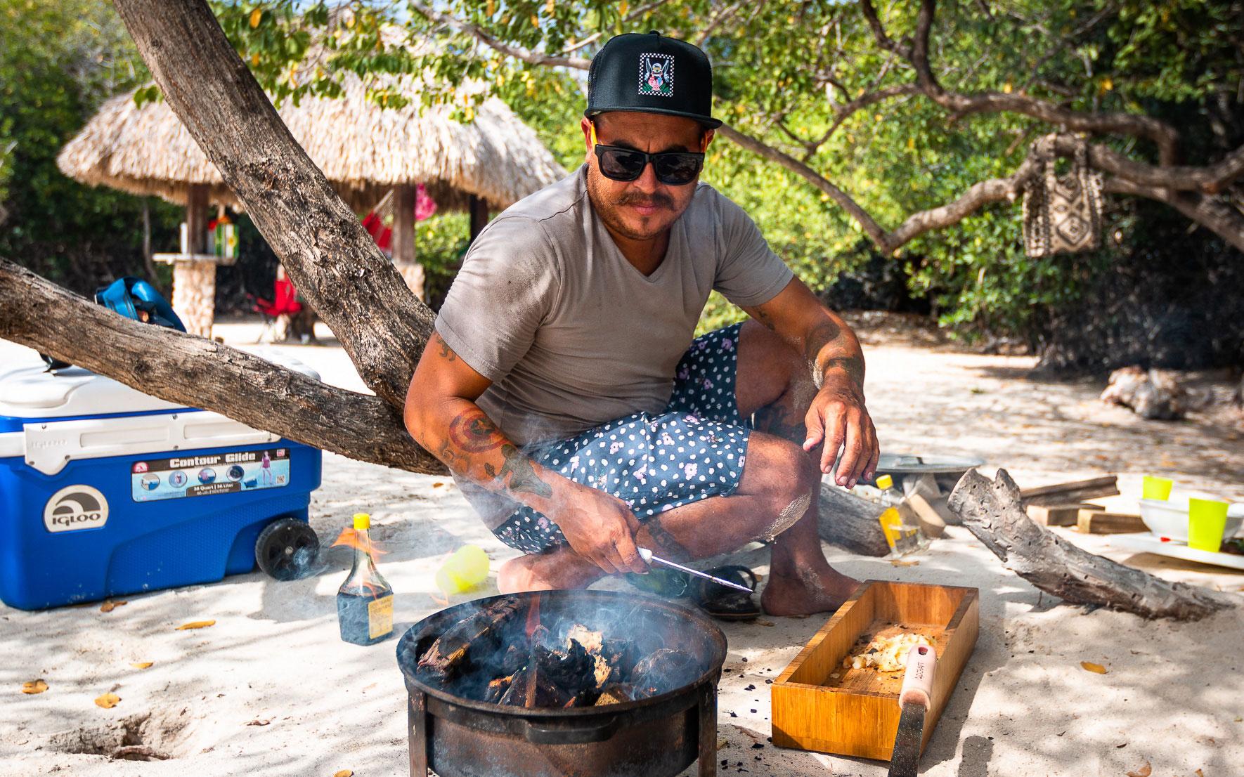 Frank Taki Kelly Aruba Foraging Tour