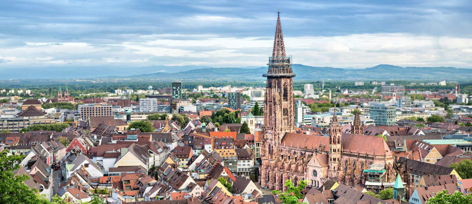 Freiburg schöne Stadt Deutschland
