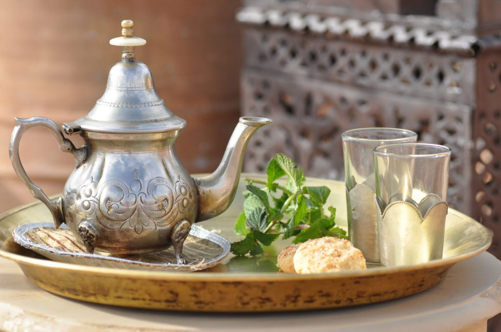 Minztee in Marokko