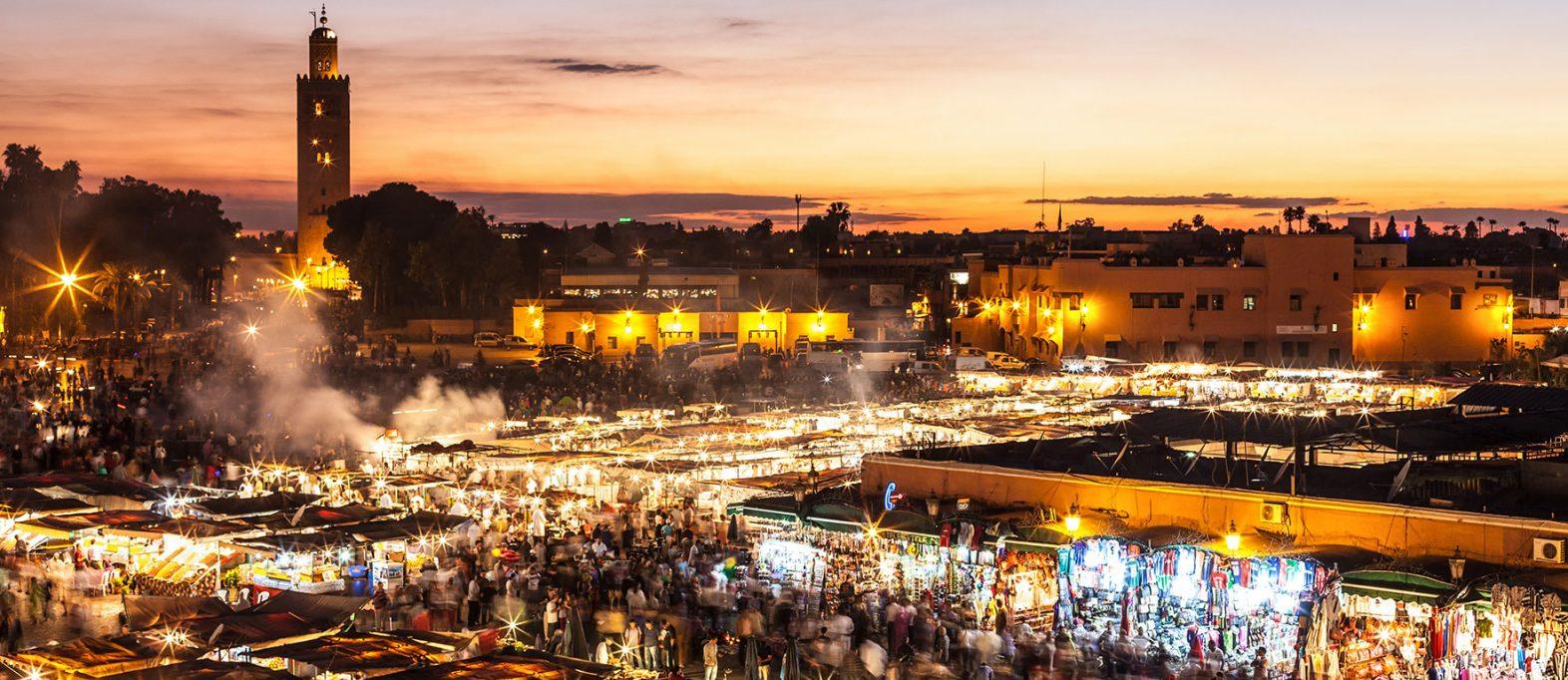 Marokko Djemaa El Fna Marrakesch